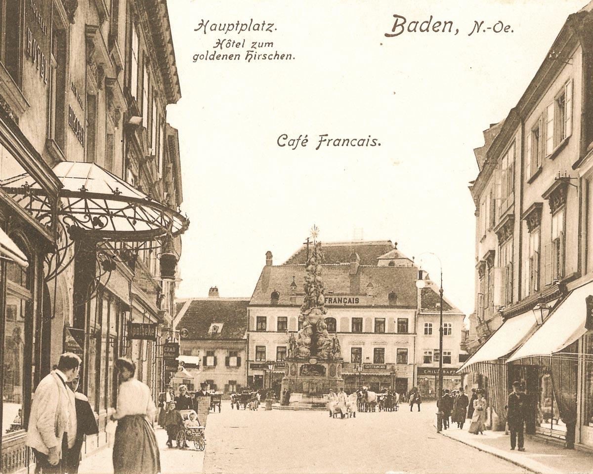 Historisches Foto Daben bei Wien
